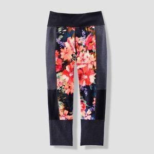 Joy Lab Floral Performance Leggings Size M